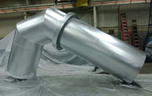 Carbon Steel & Stainless Steel Ductwork